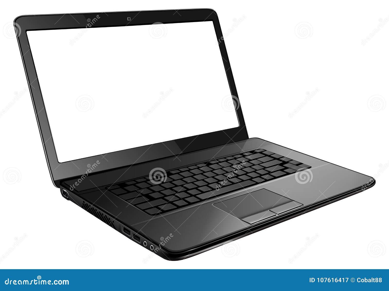 Abra o portátil