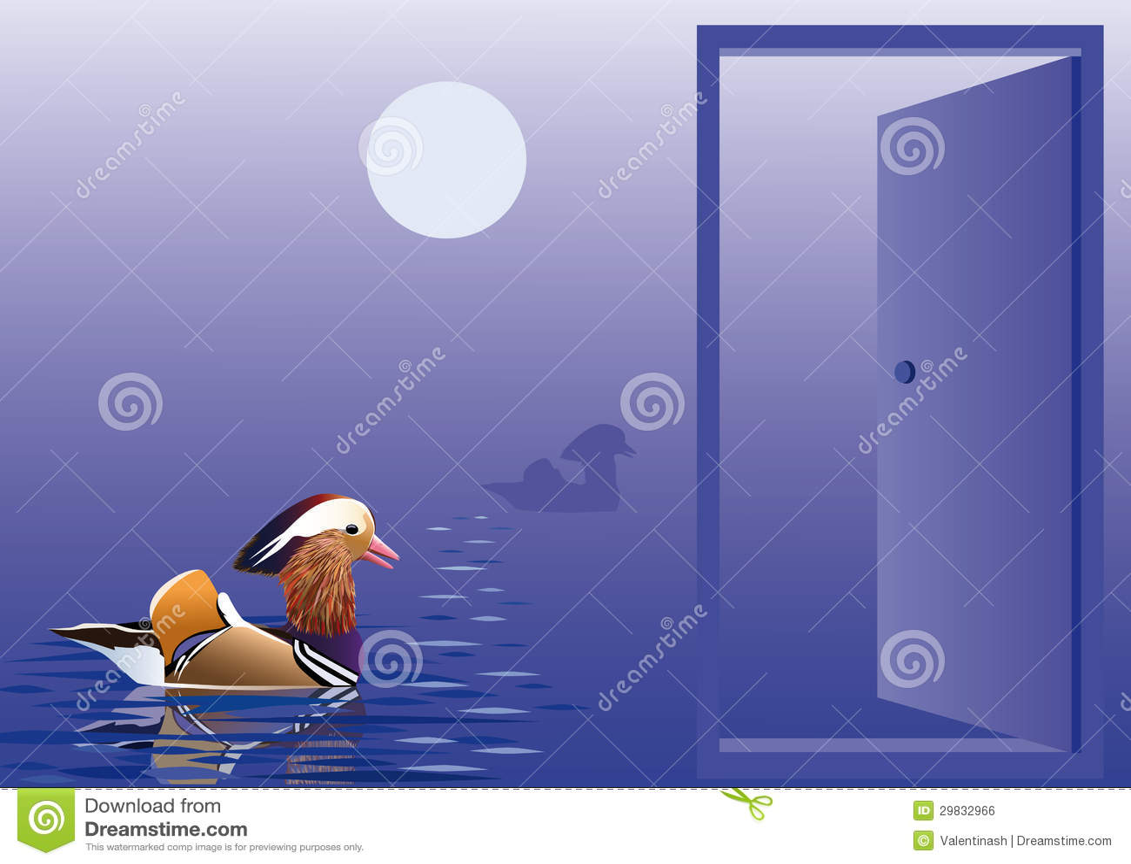 Abra a porta à natureza nativa