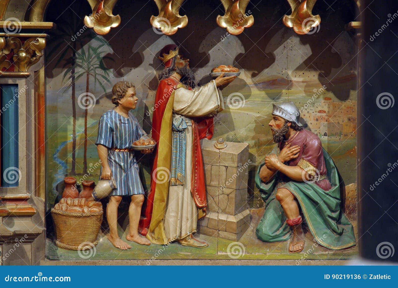 Abraham e Melchizedek
