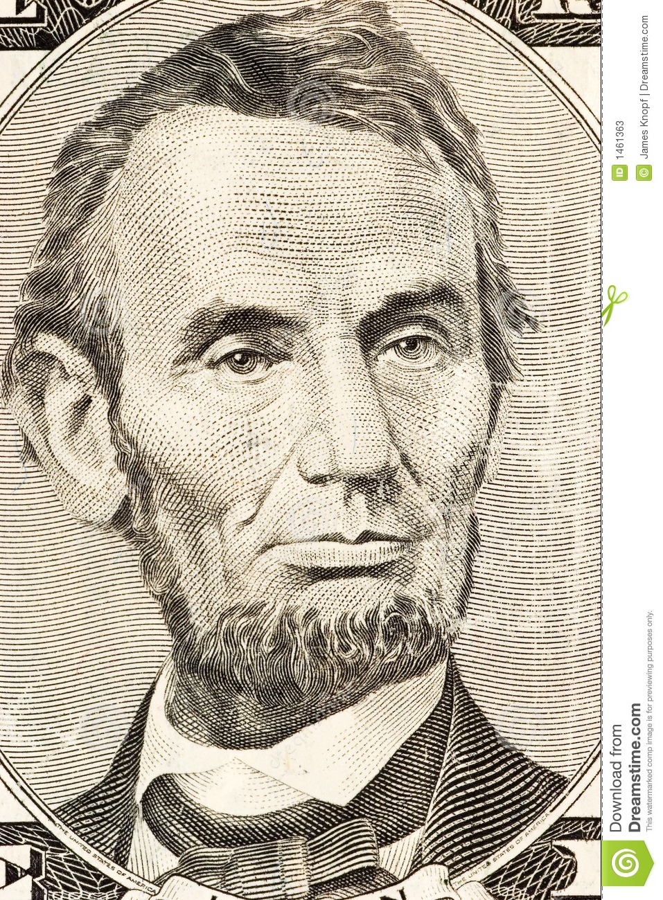 Abraham Lincoln on FIve