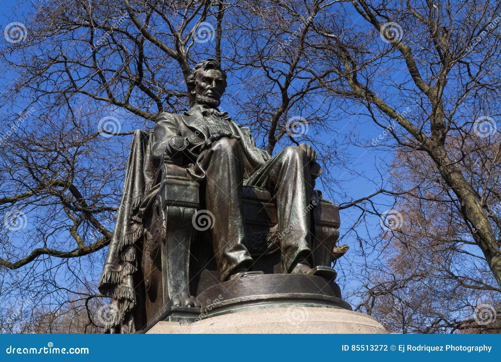 Abraham Lincoln staty