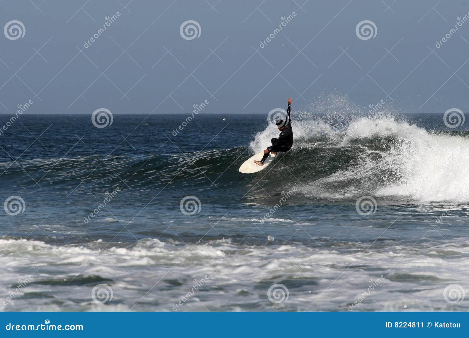 In Abreojos surfen, Baja, Mexiko
