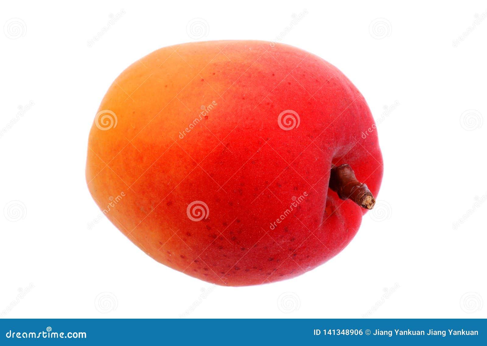 Abricots frais et fruit mûr