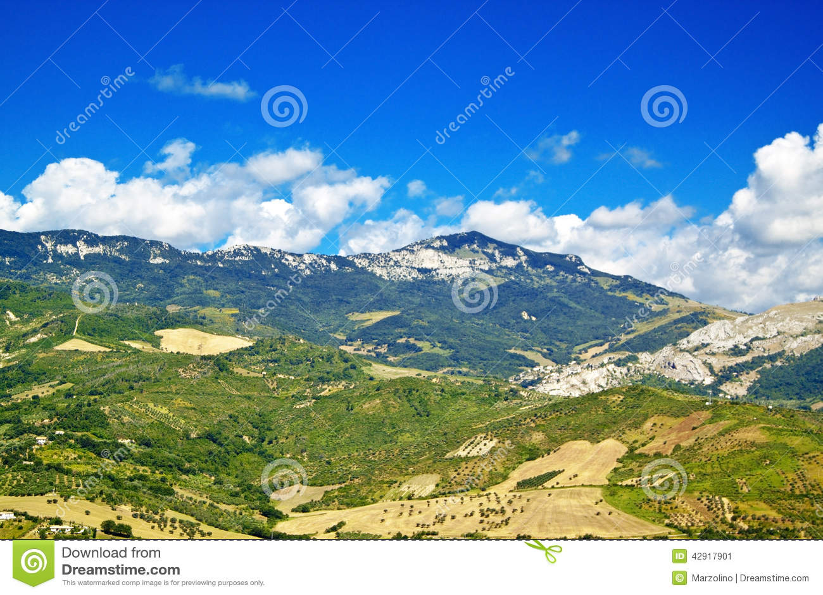 Abruzzo Countryside Duodecies Stock Photo Image 42917901