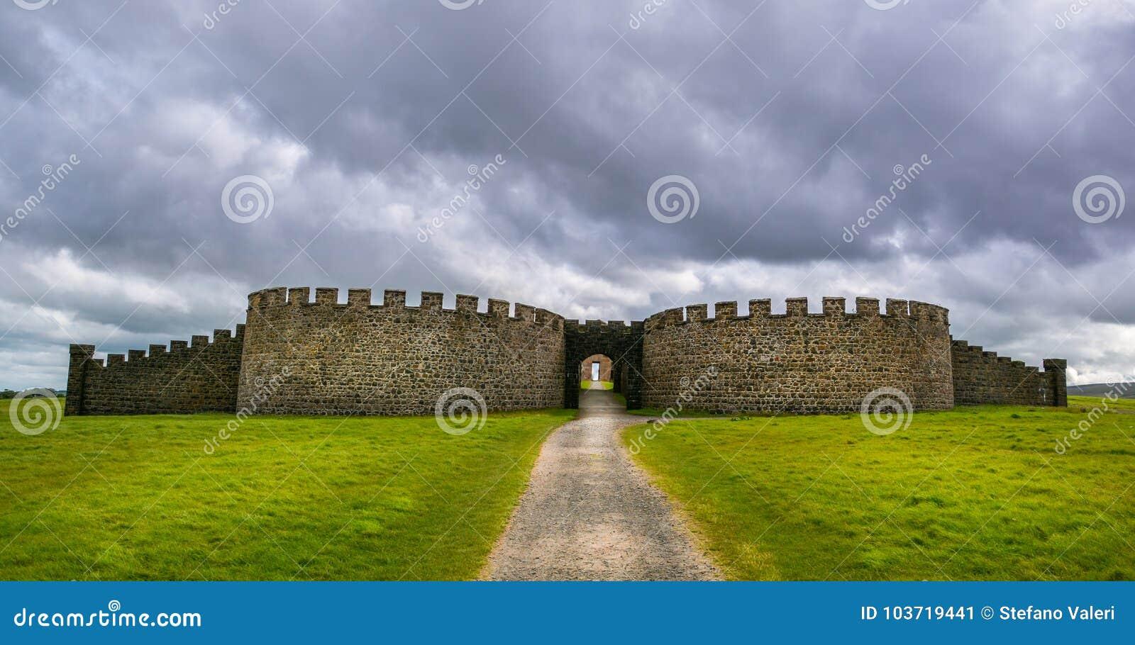 Abschüssiger Demesne und Hezlett-Haus, Castlerock, Londonderry, Nordirland