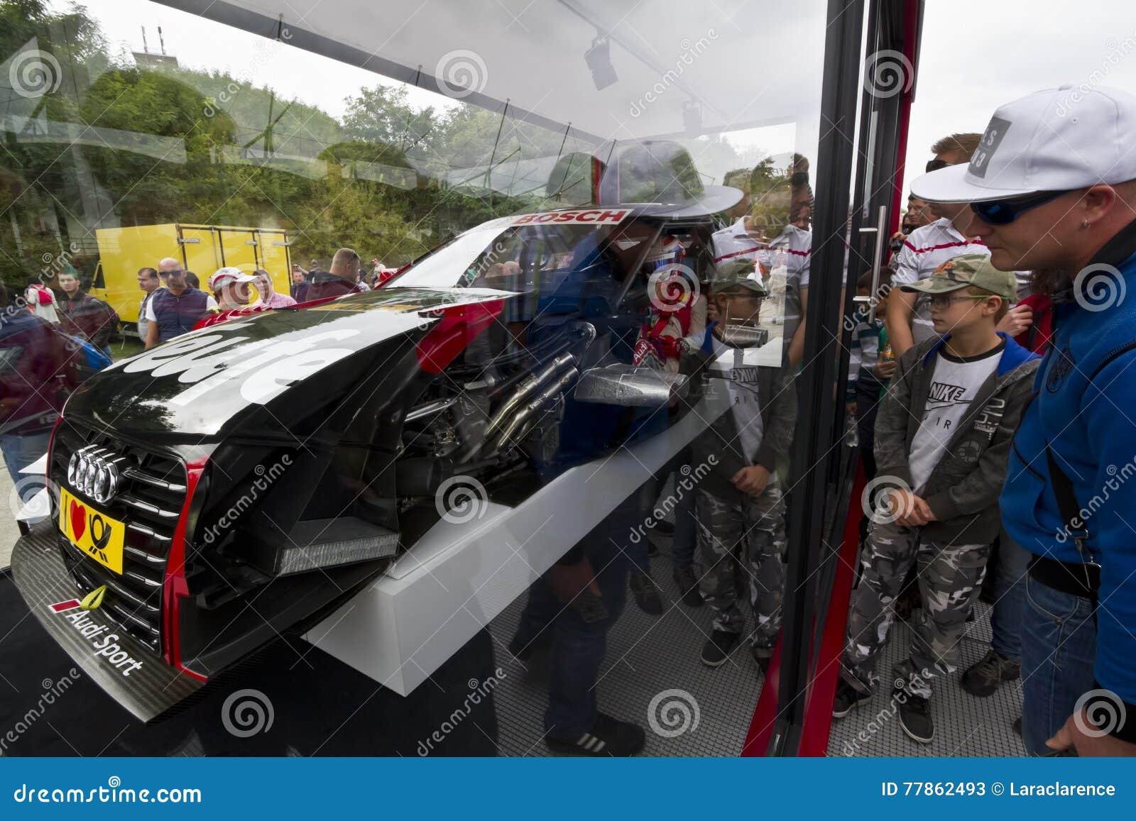 Abschnitt über ein Audi Sport-Auto