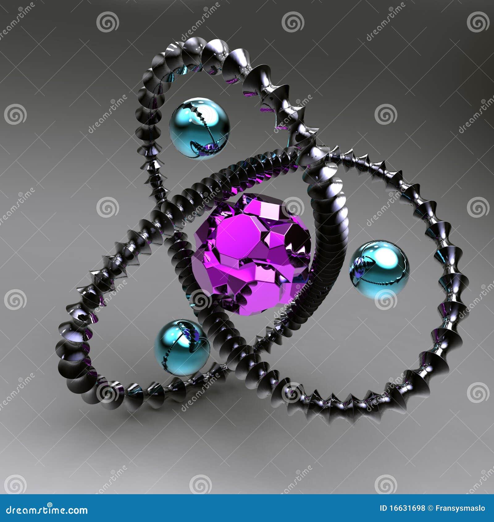 Abstracção preta com os gemstones para dentro