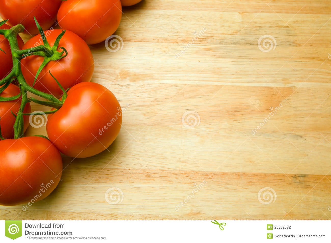 Good Background For Presentation About Food