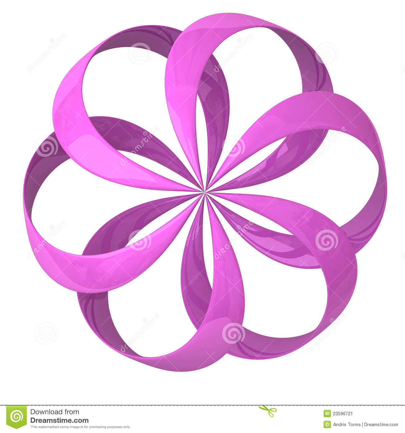 Abstract 3d flower icon stock image image 23596721 abstract flower icon pink dhlflorist Images