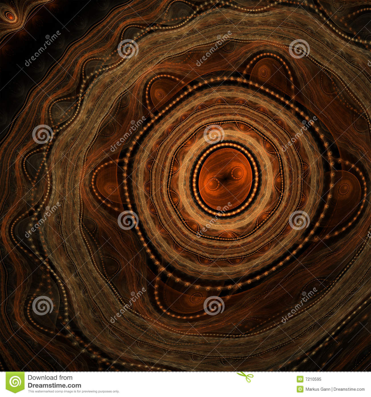 Abstract aboriginal background
