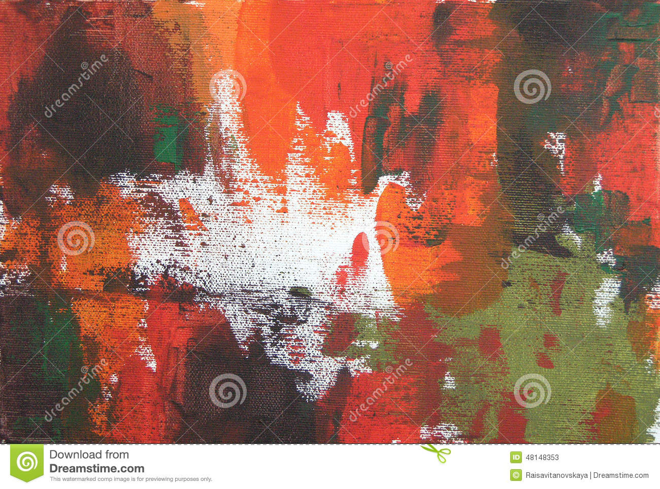 Abstract acrylic and oil background stock illustration for Acrylic painting on black background