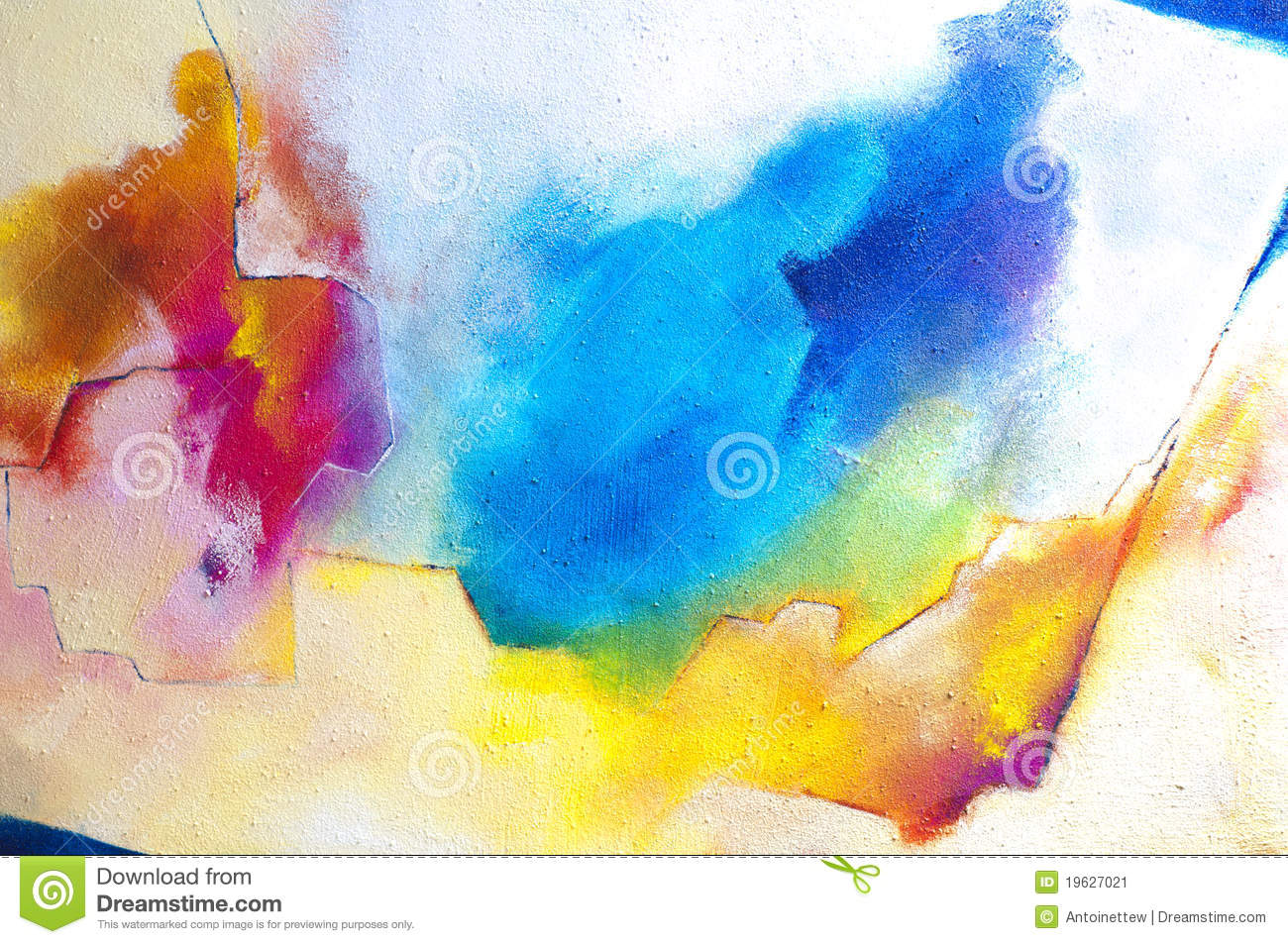 Abstract acrylic painting on hardboard with sand stock for Peinture acrylique