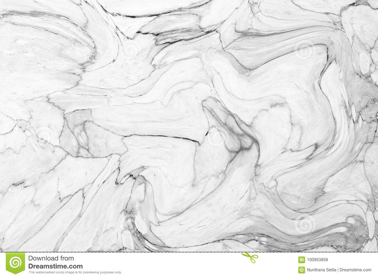 Abstract acrylic wave pattern, White marble ink texture background for wallpaper or skin wall tile for interior design. High