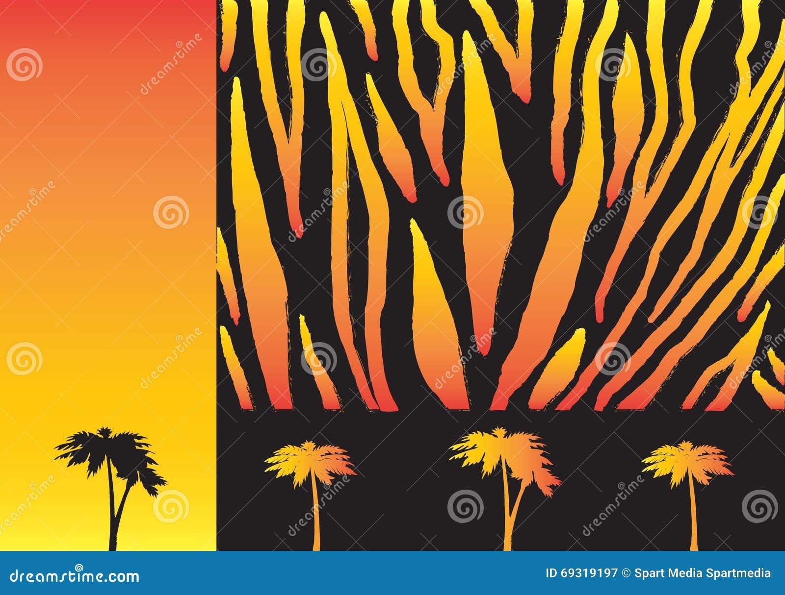 African PRINT Stock Illustration
