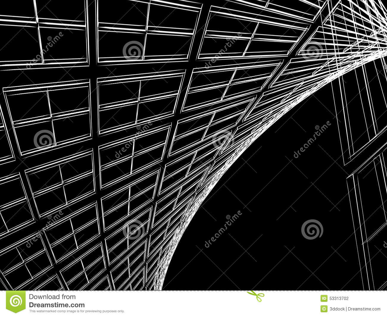Abstract architectural construction stock illustration download abstract architectural construction stock illustration illustration of blueprint architecture 53313702 malvernweather Gallery