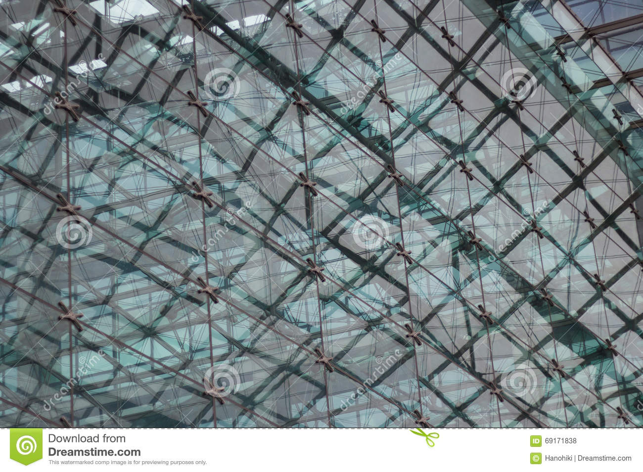Modern Architecture Pattern abstract architectural pattern, glass facade of modern building