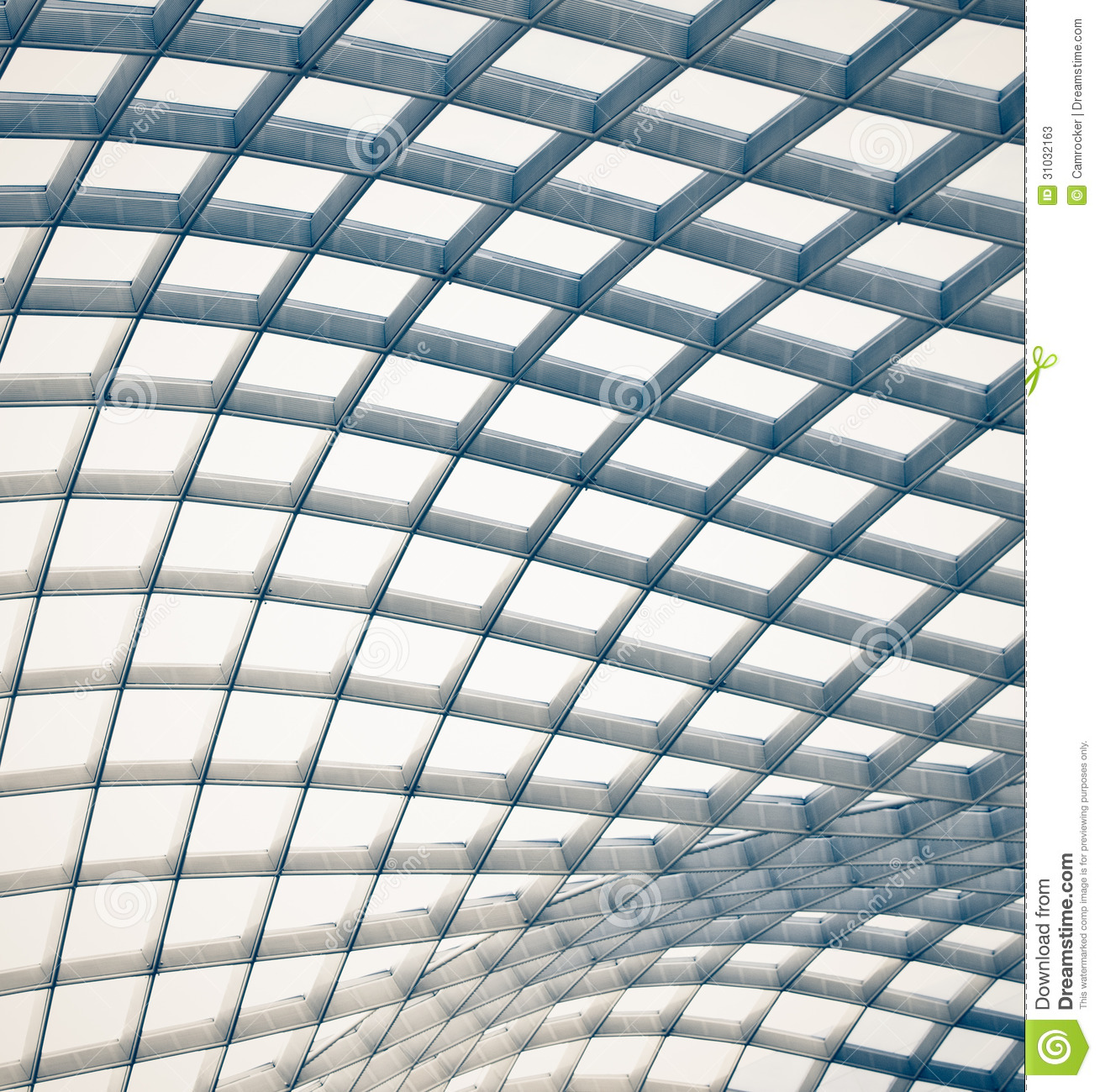 Abstract Architectural Wave Background Stock Image Image