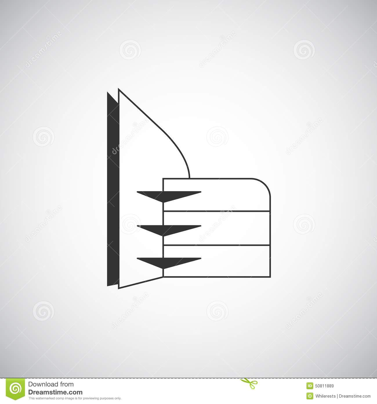 Abstract architecture building silhouette logo design for Architecture logo