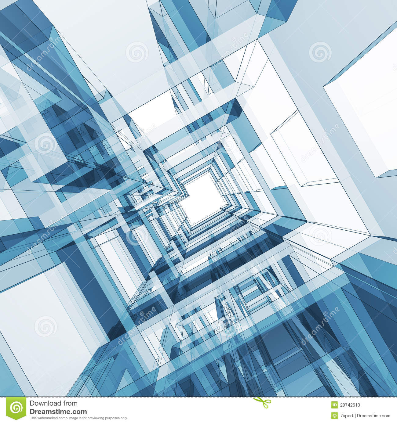 Abstract architecture stock photos image 29742613 for Programas para arquitectura 3d