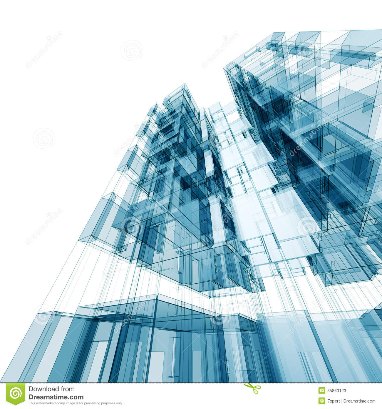 Architecture Design: Abstract Architecture Stock Photos