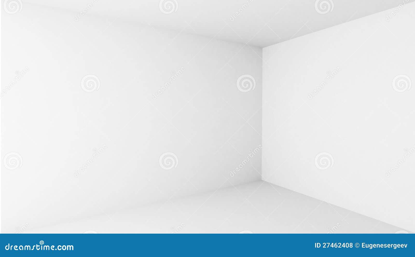 White Blank Modern Room