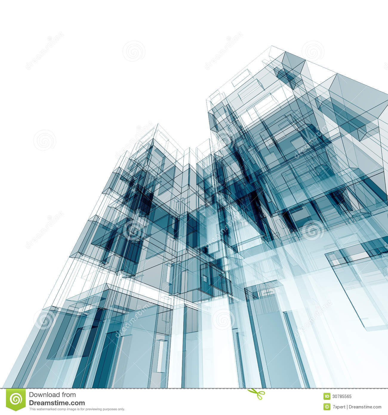 3d abstract architectural design - photo #36