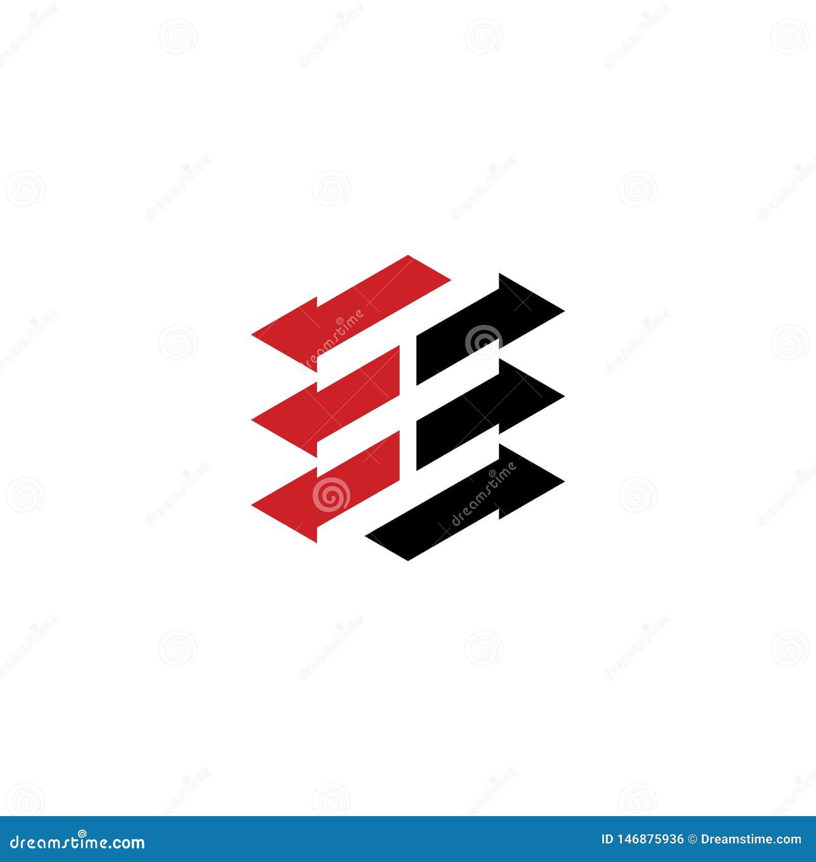 Abstract arrow business logo Design