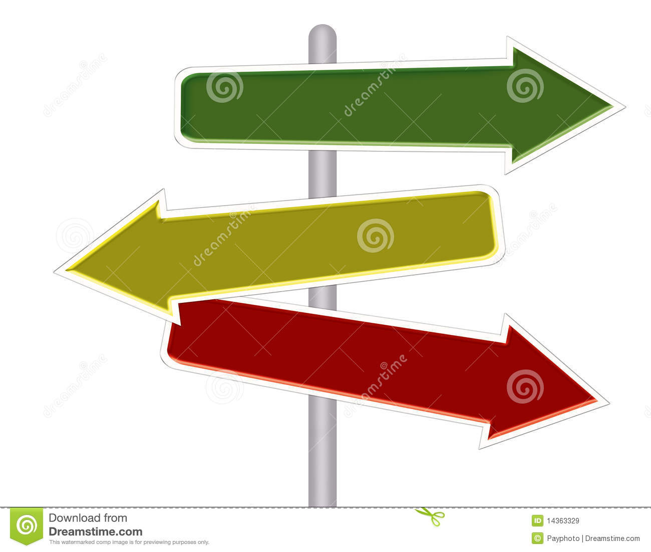 abstract arrow road sign stock illustration illustration of highway