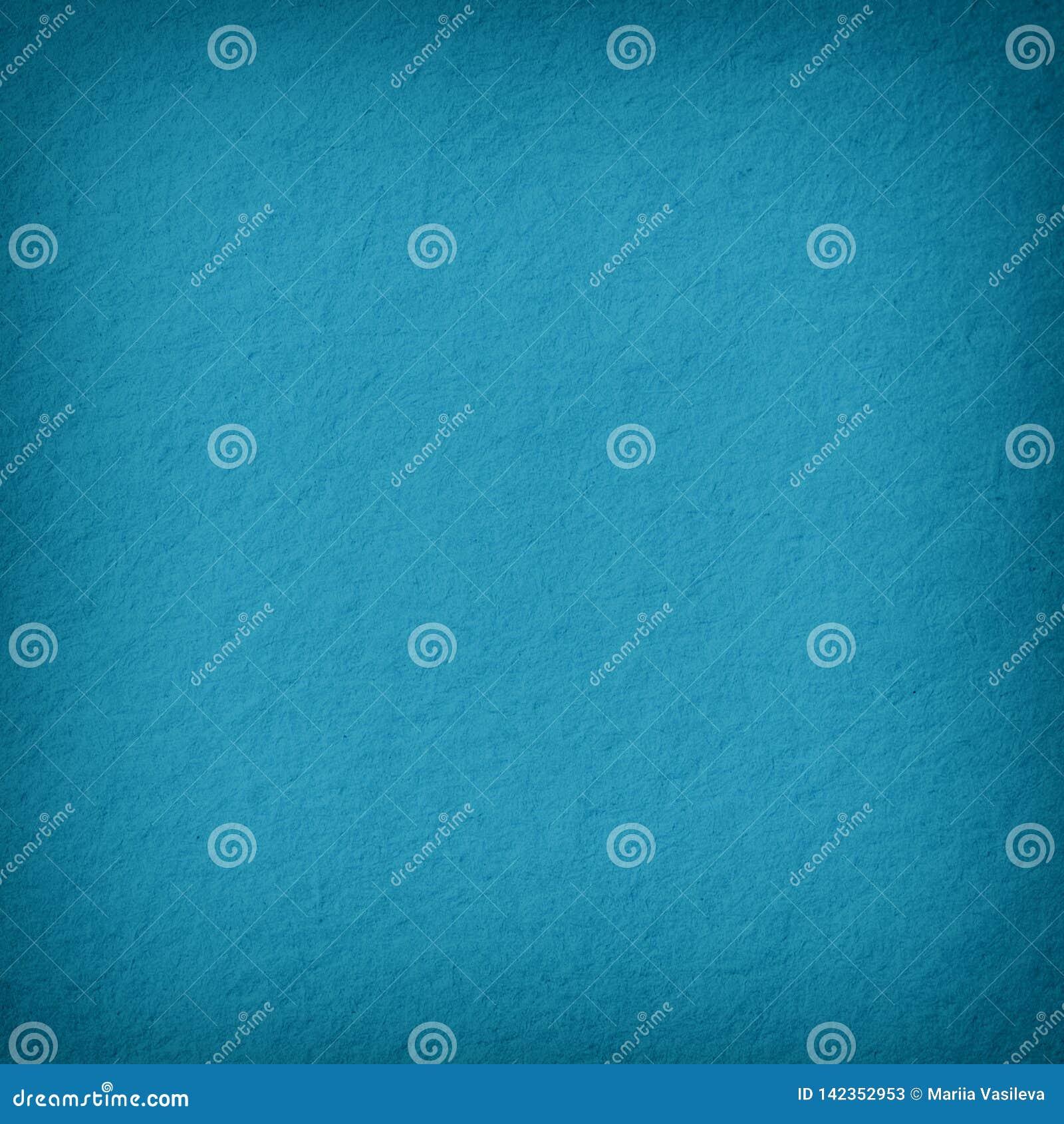 Blue Background Paper Texture Blank Vintage Retro Rough