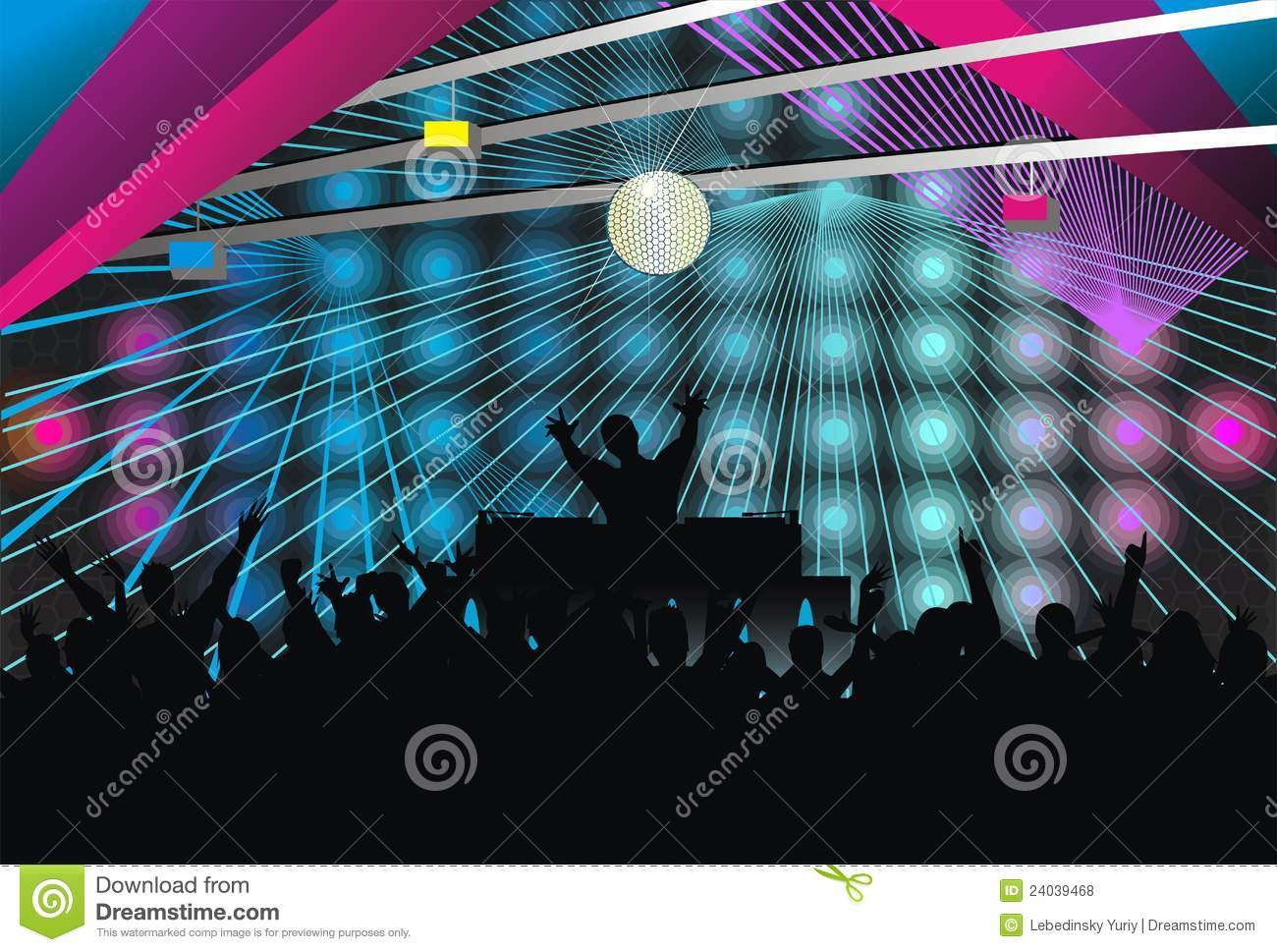 Silhouette Dance Music Abstract Background: Abstract; Art; Background; Musicj Silhouette Royalty Free