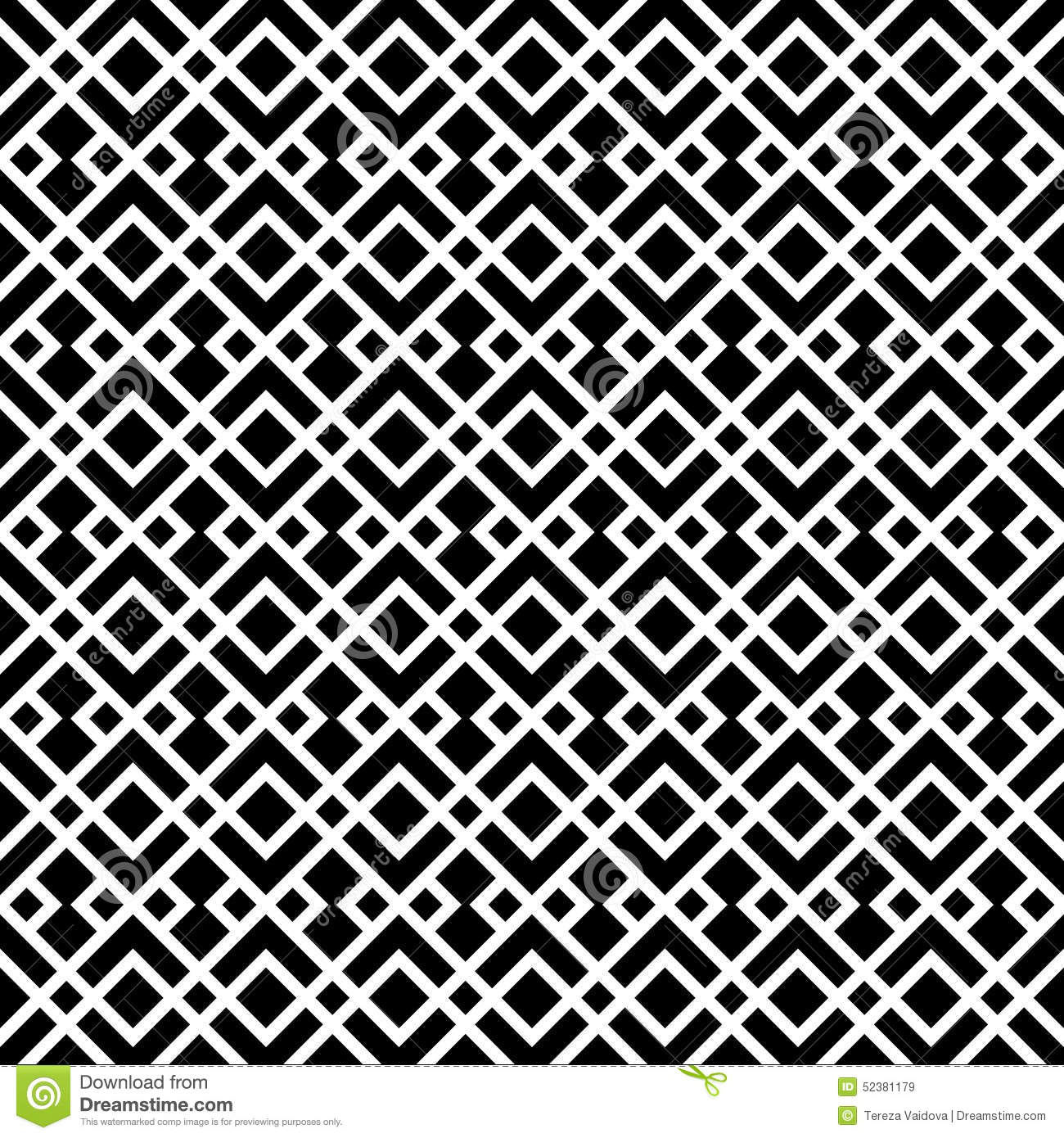 Abstract art deco black white luxury decor pattern stock for Art et decoration