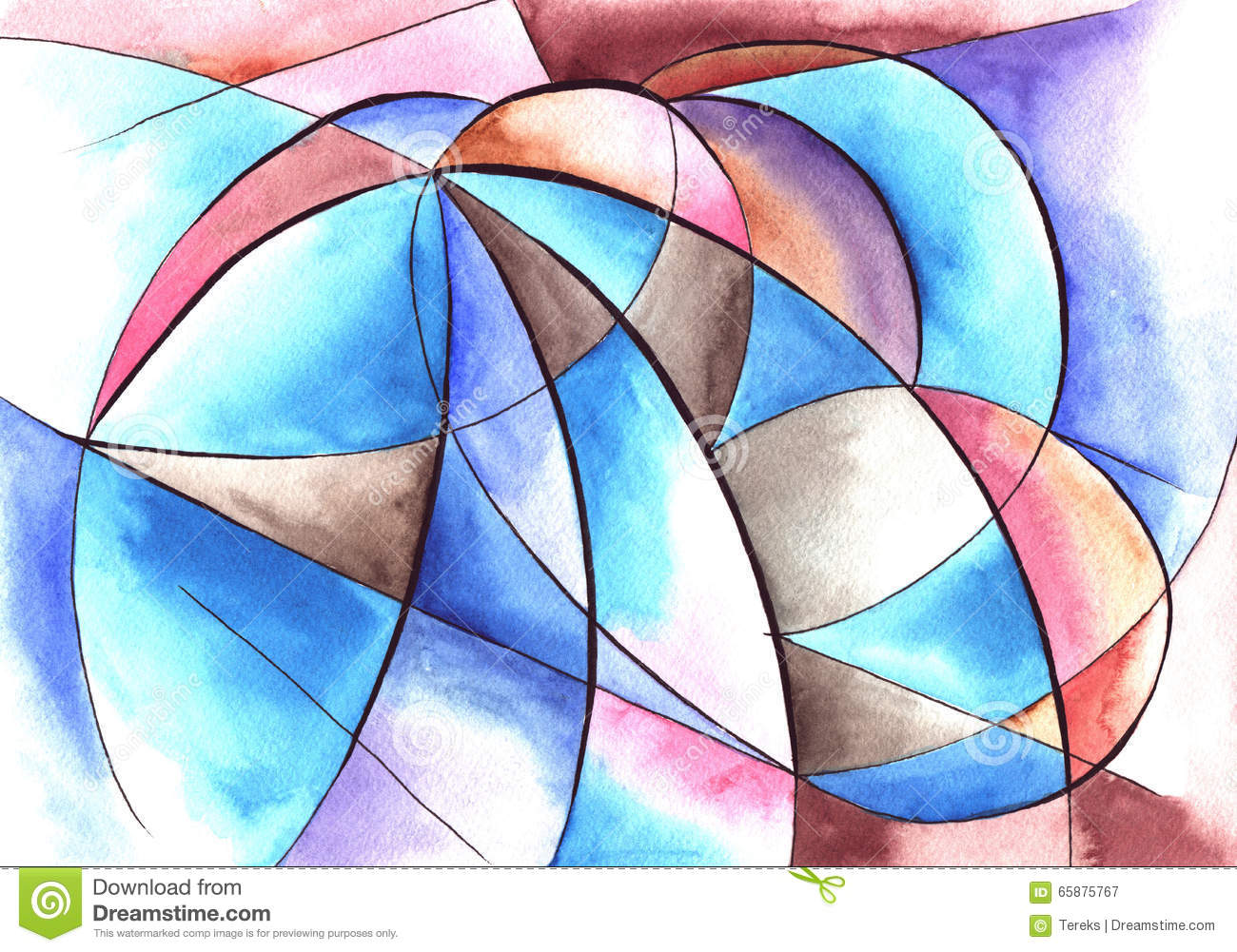 Abstract Art Design Shape