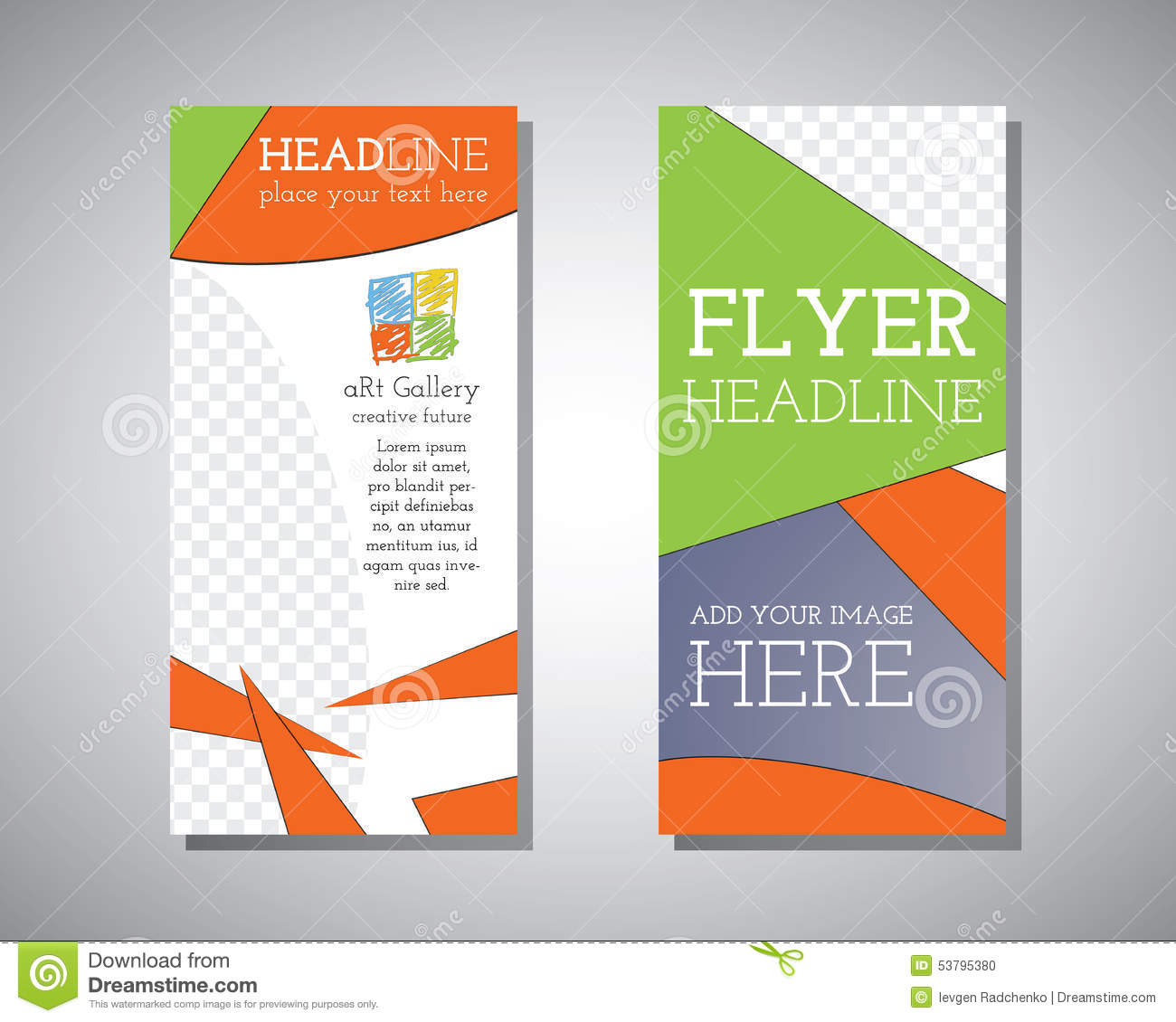 three fold leaflet