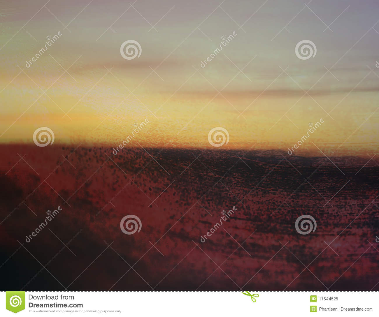Abstract art grunge landscape background