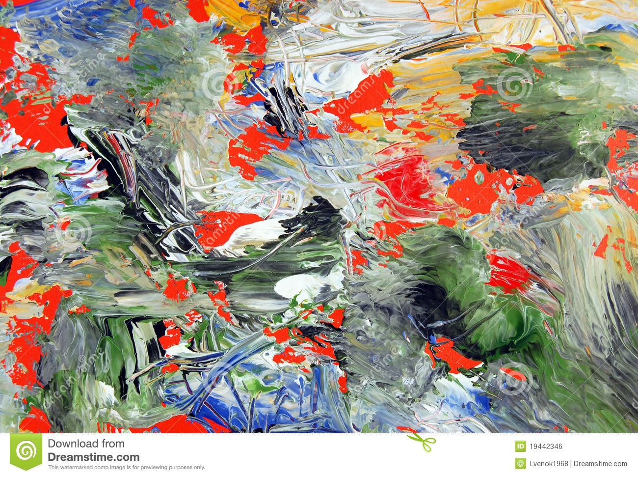 Abstract Art . Painted Background Texture Stock Photo