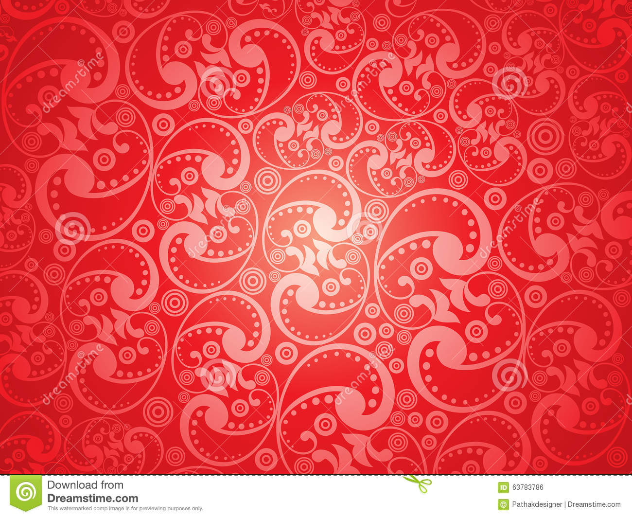 red flourish papel de - photo #42