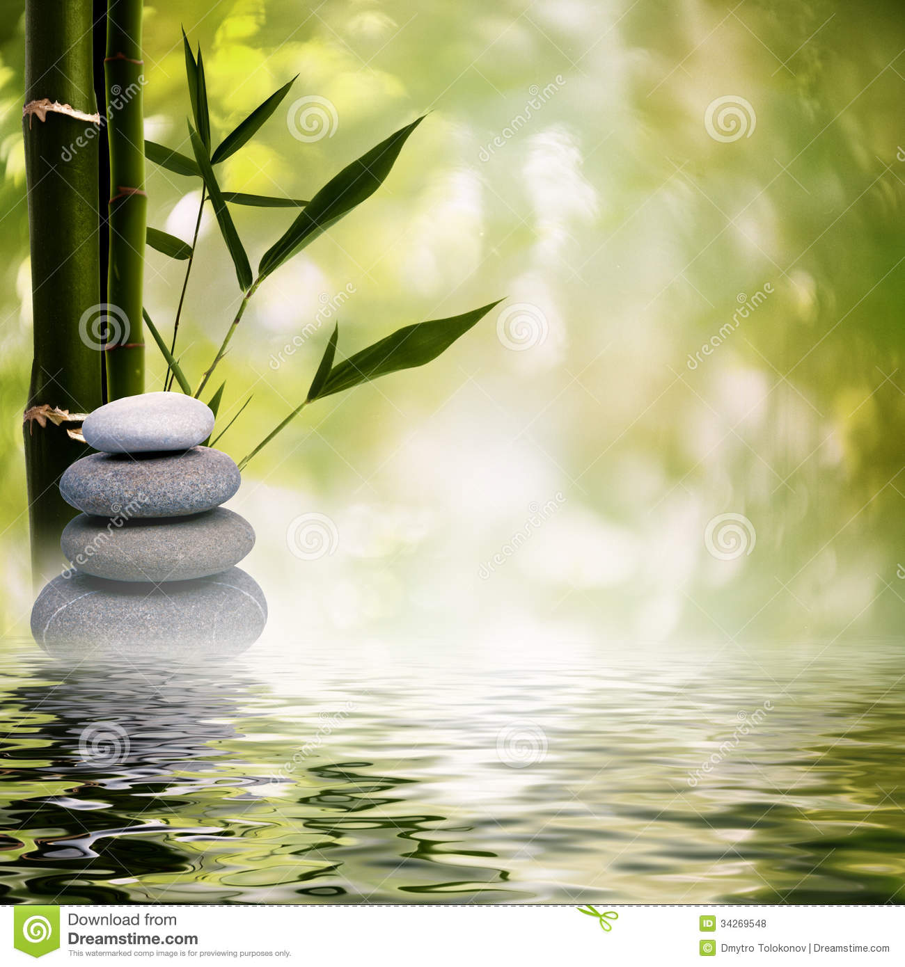 Abstract Asian Backgrounds Grass Peace