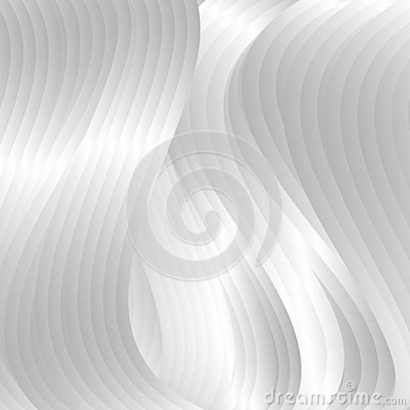 Abstract backdrop with silver waves