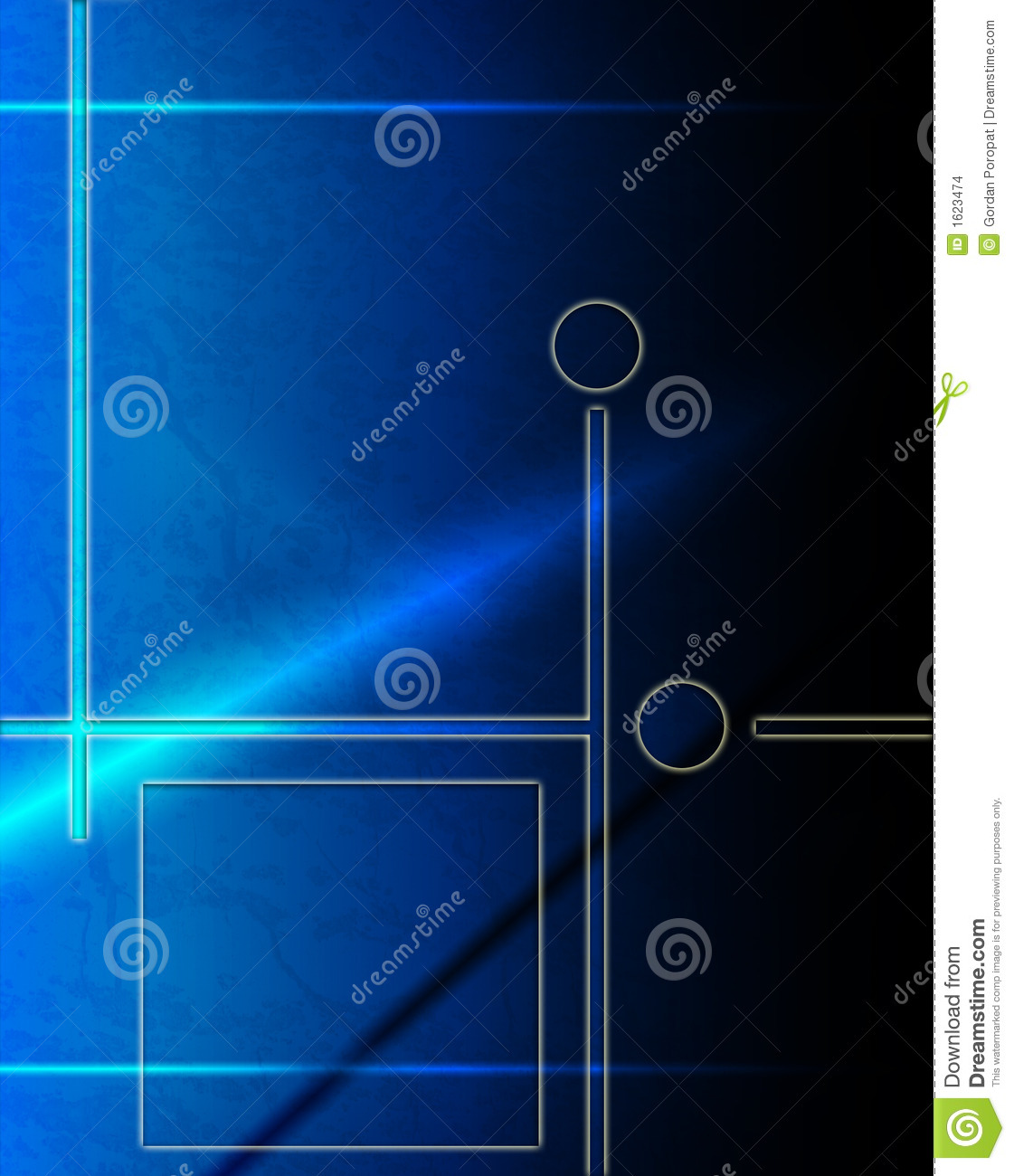 Abstract Background Stock Illustration. Illustration Of