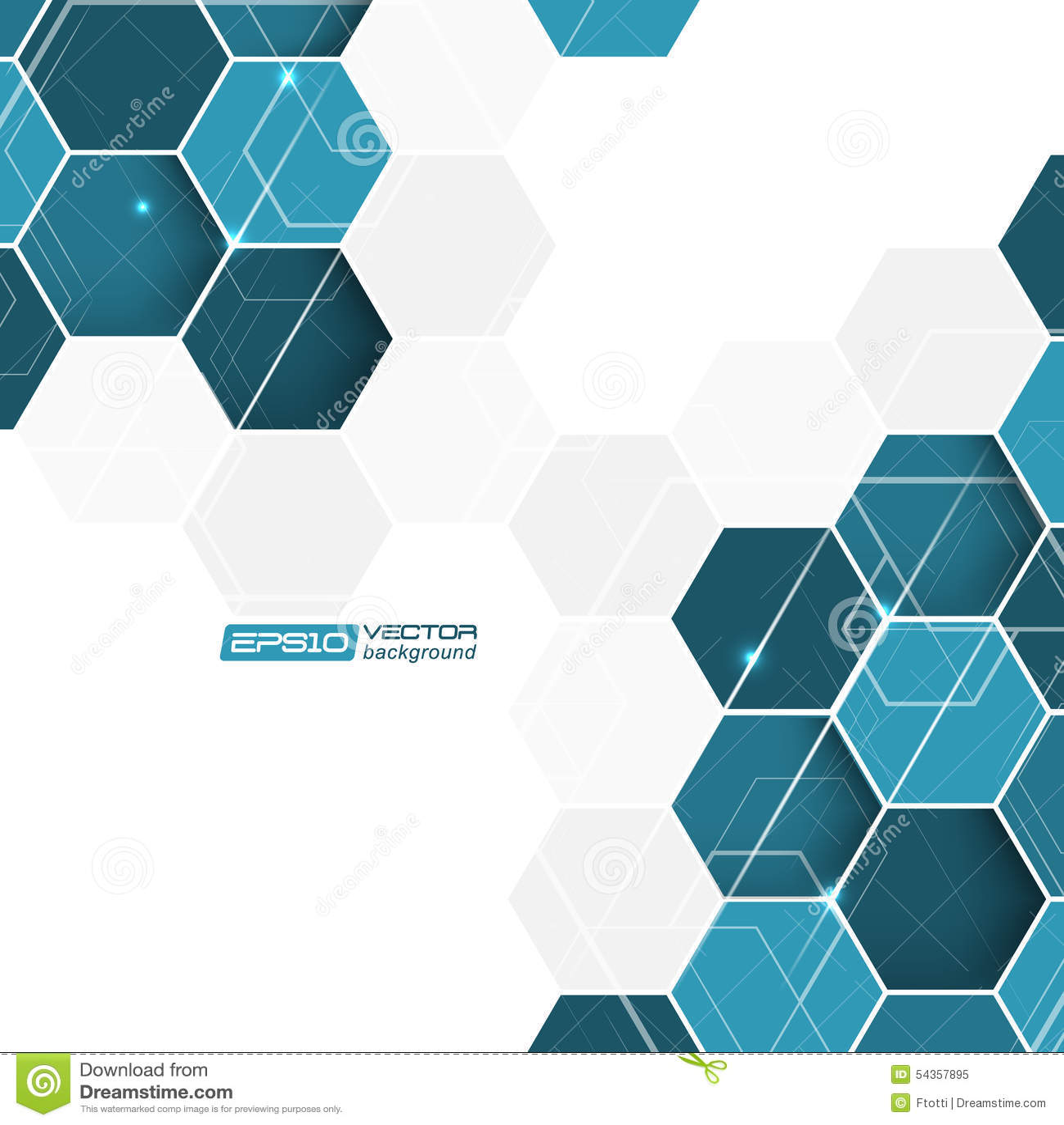 blue hexagonal pattern vector - photo #22