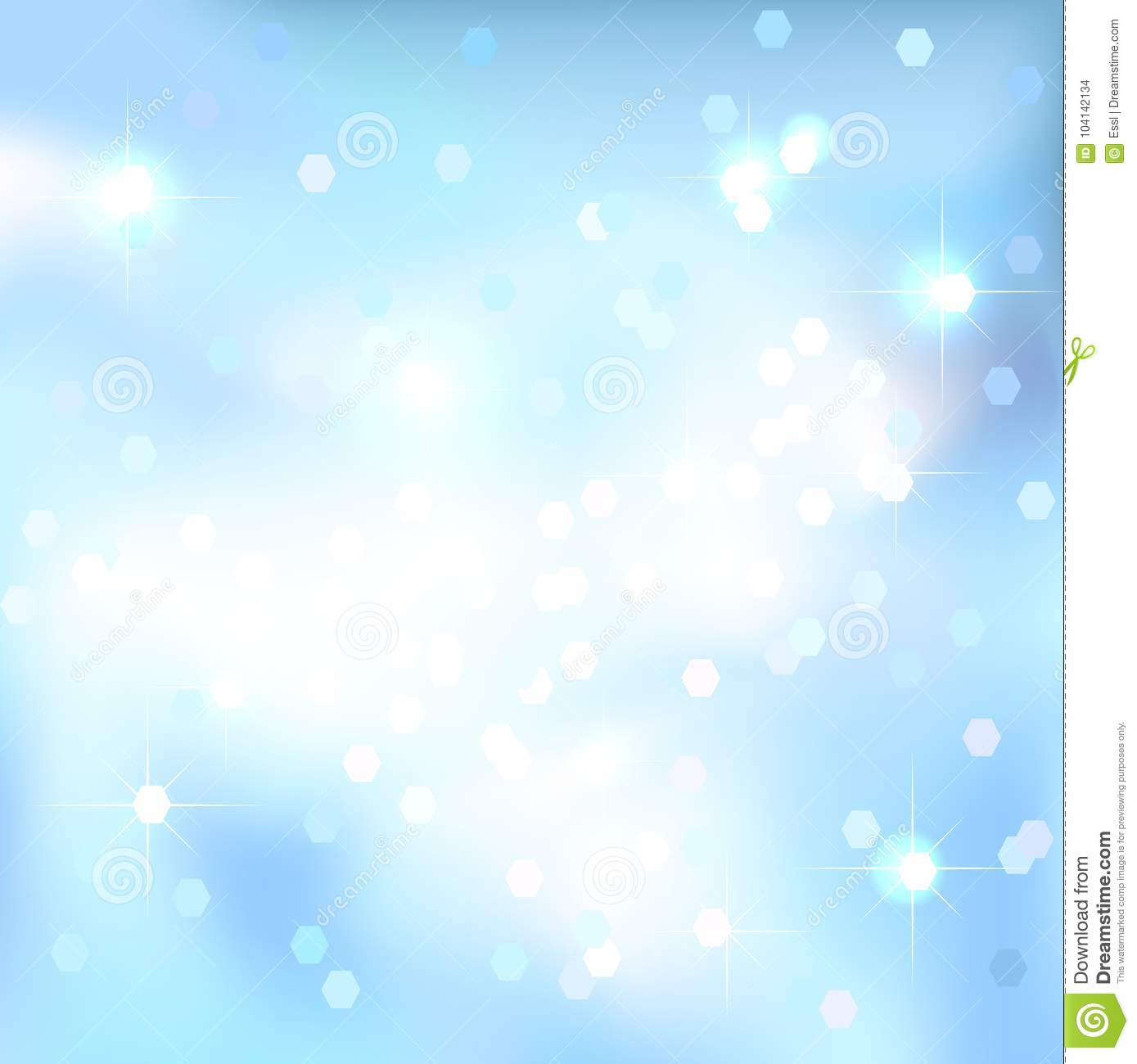 Abstract Background  Blue Sky Background  Magical New Year