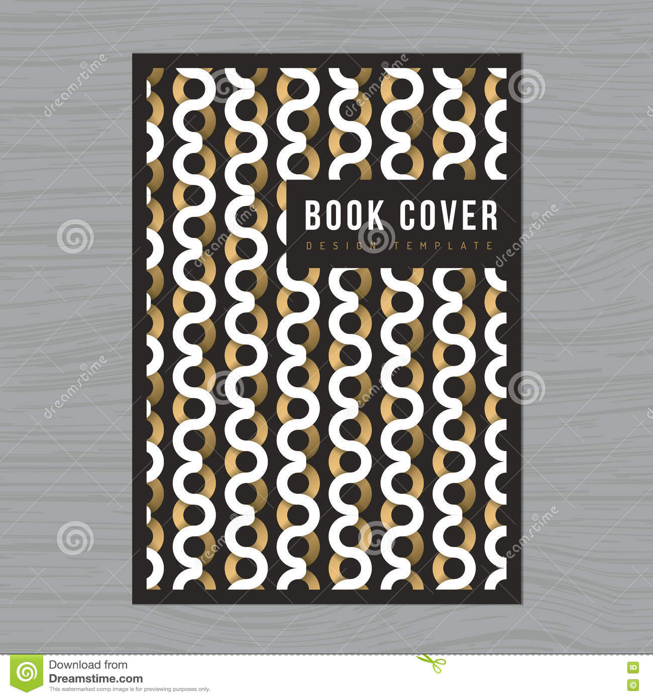 Book Cover Illustration Royalties : Abstract background for book cover poster flyer