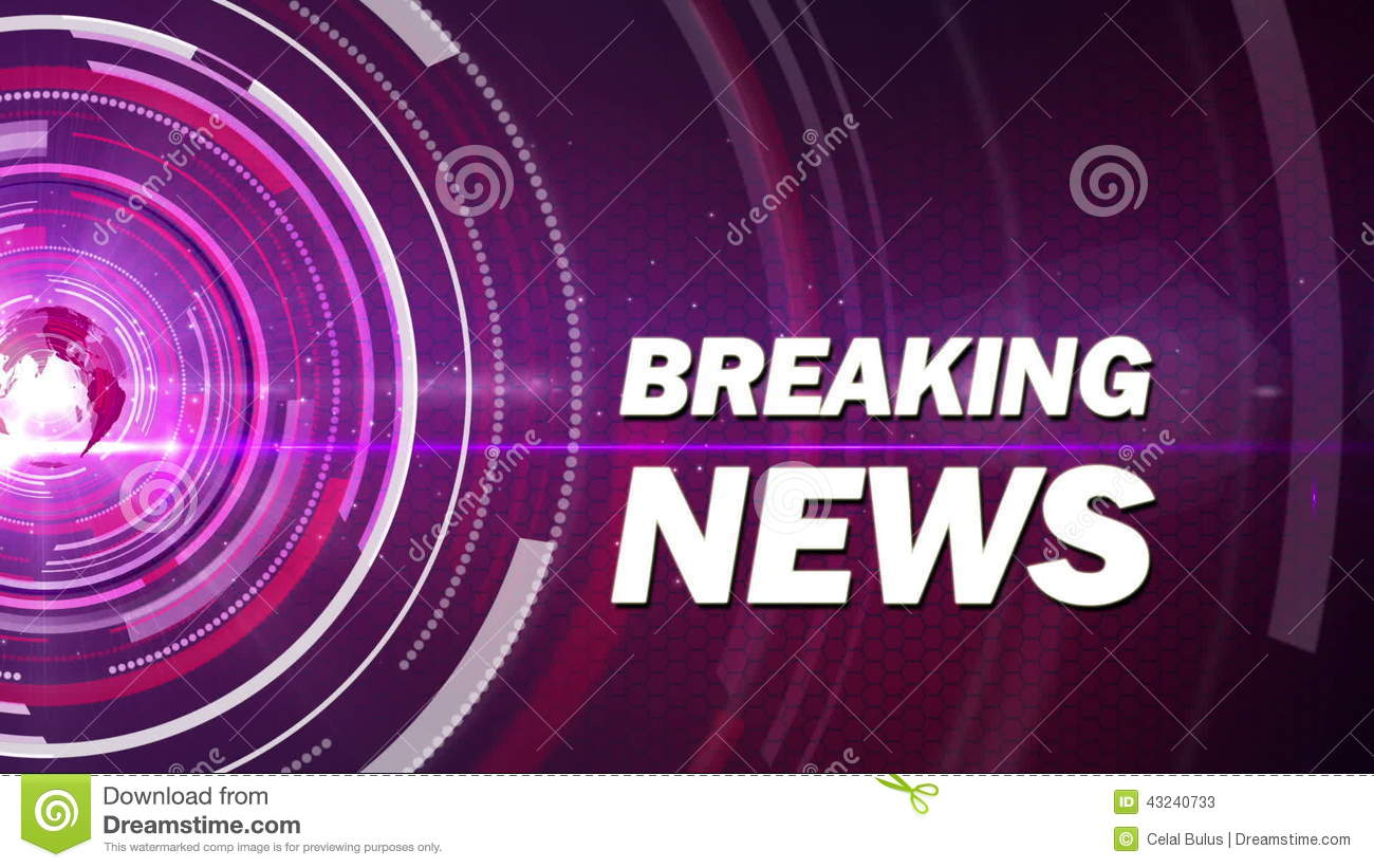Abstract Background Breaking News Stock Video