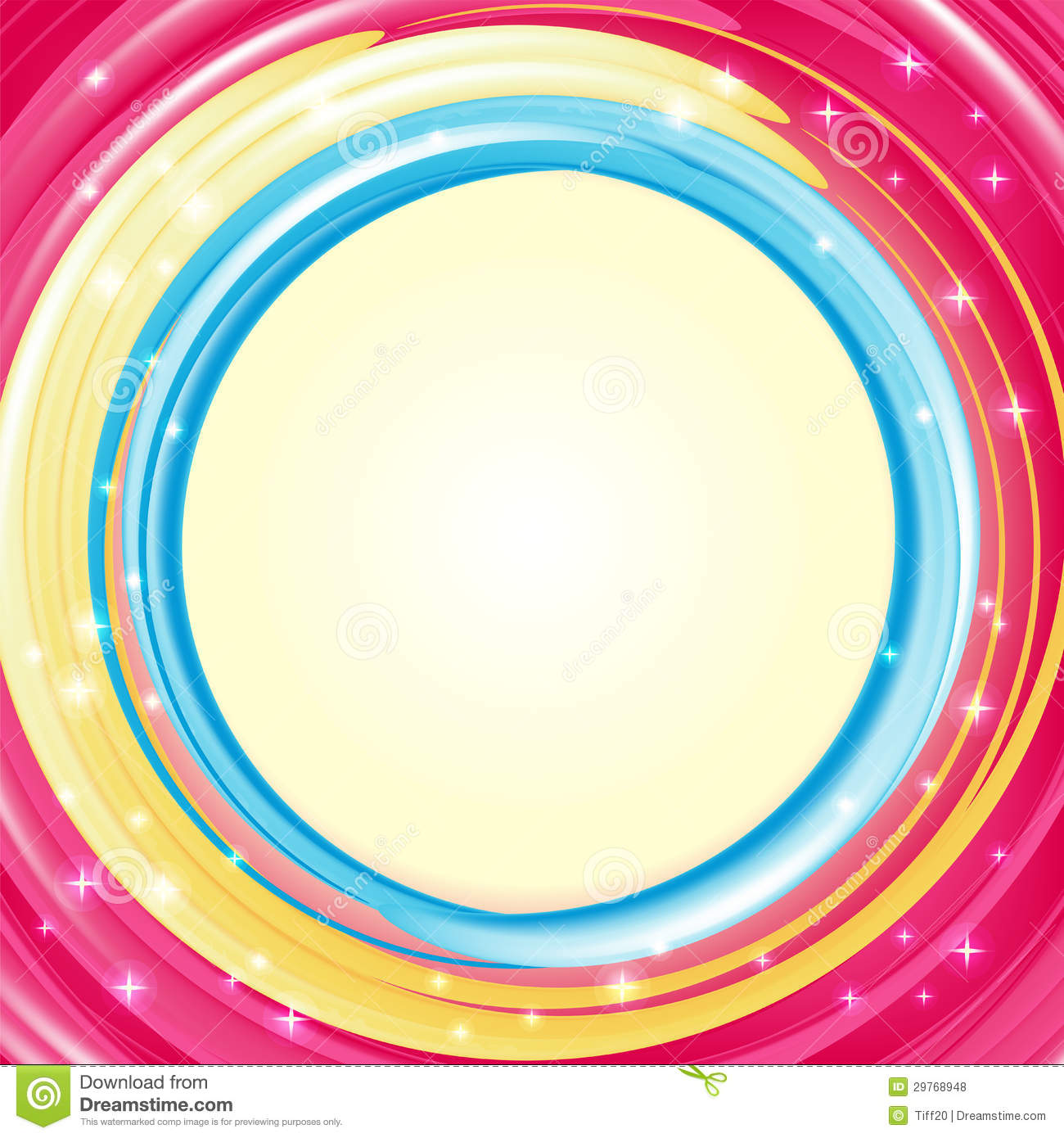 Background Stock Vector Illustration Of Circle Shiny