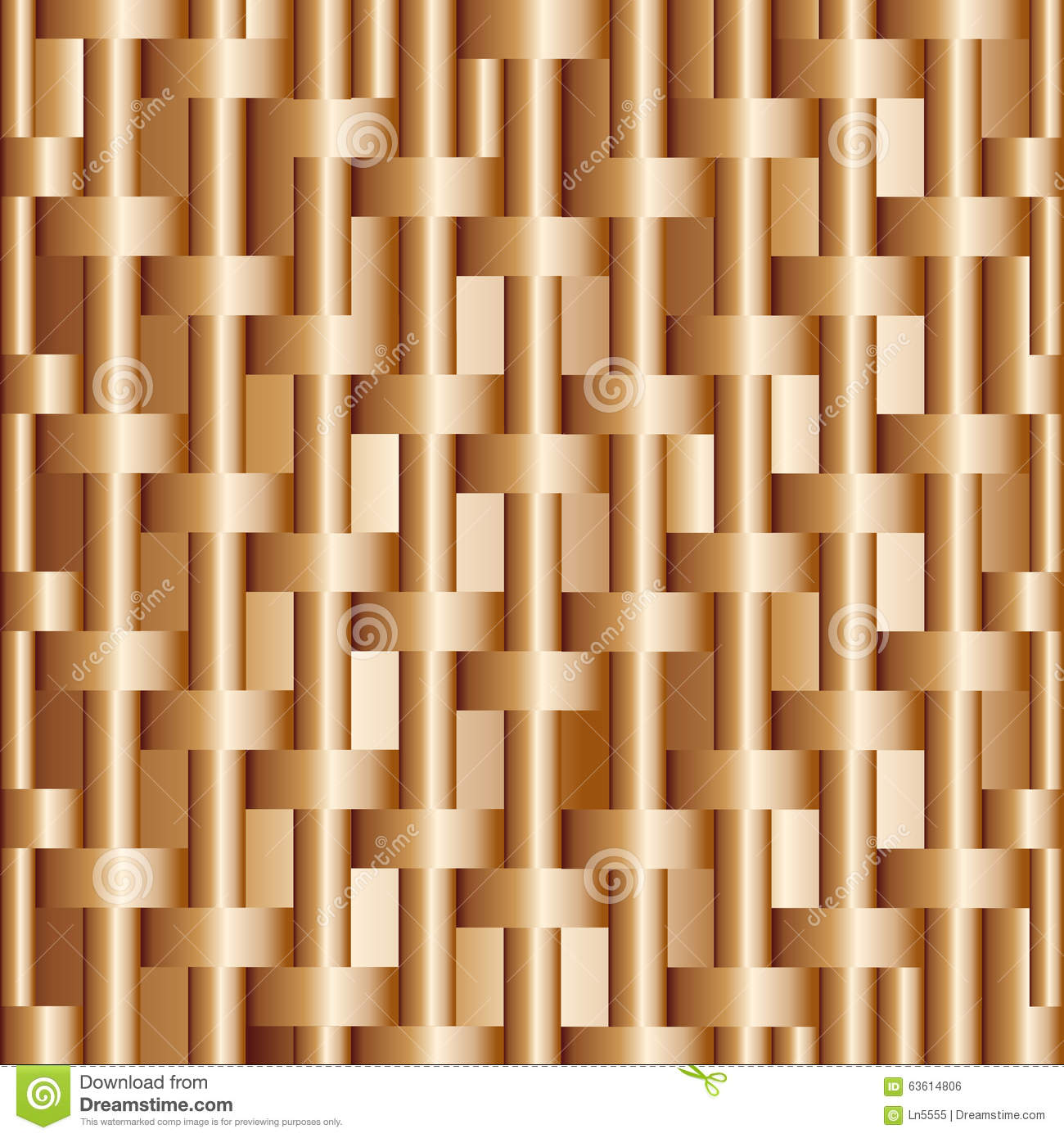 Abstract background with bronze bars vector for design workflow.