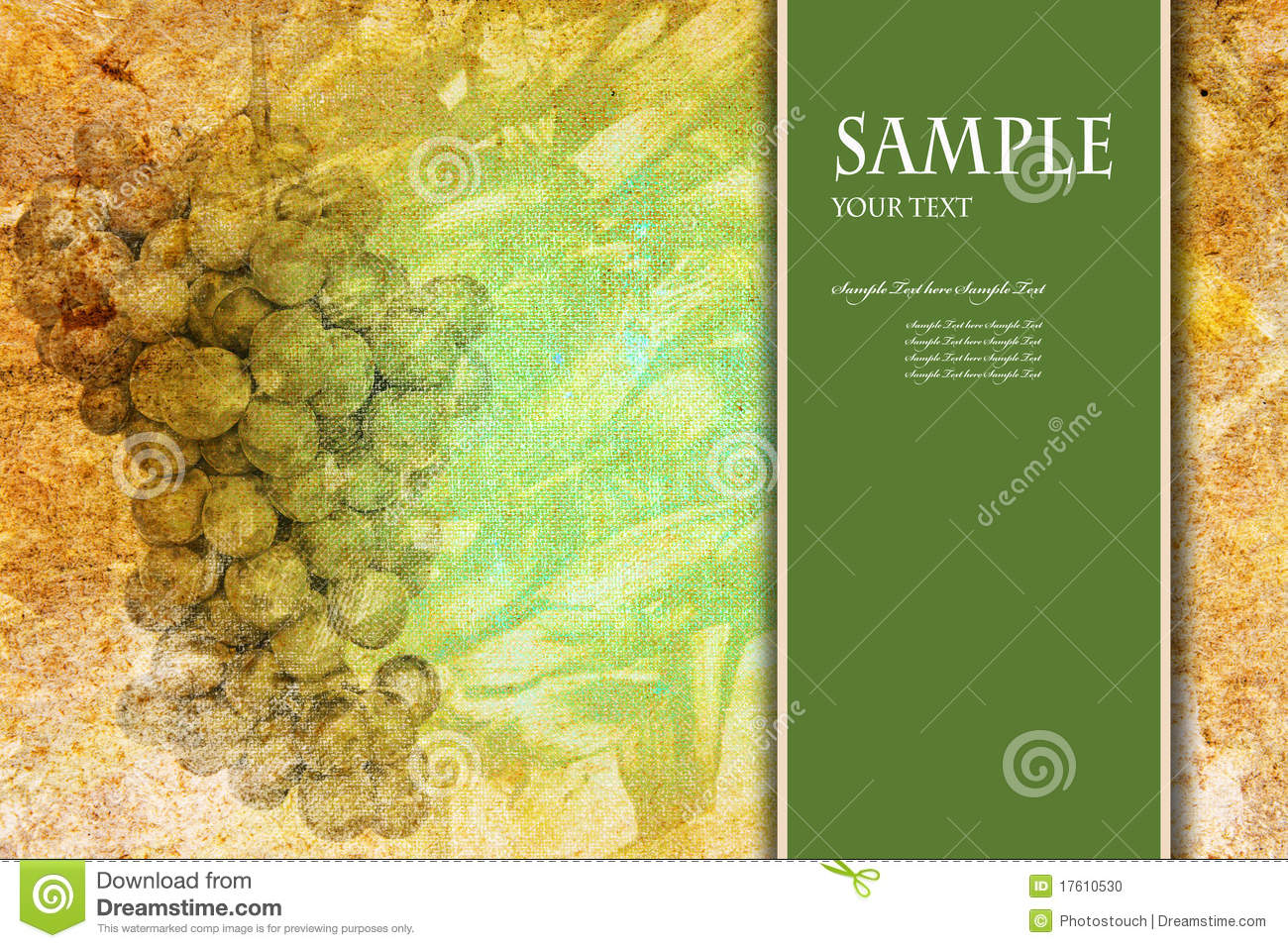 Abstract Book Cover Background ~ Abstract background for card or book cover stock