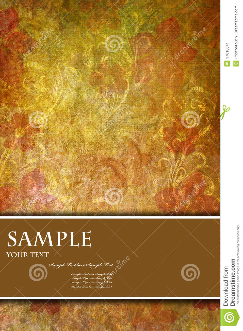 Book Cover Illustration Rates : Abstract background for card or book cover stock image