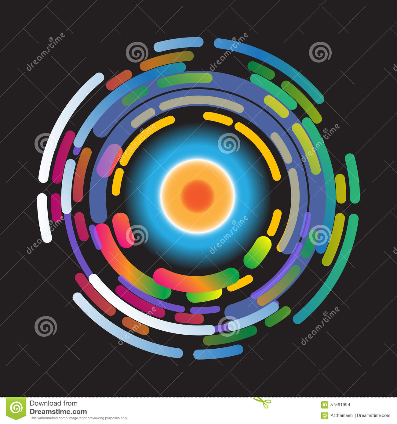 abstract background color wheel stock illustration illustration of rh dreamstime com