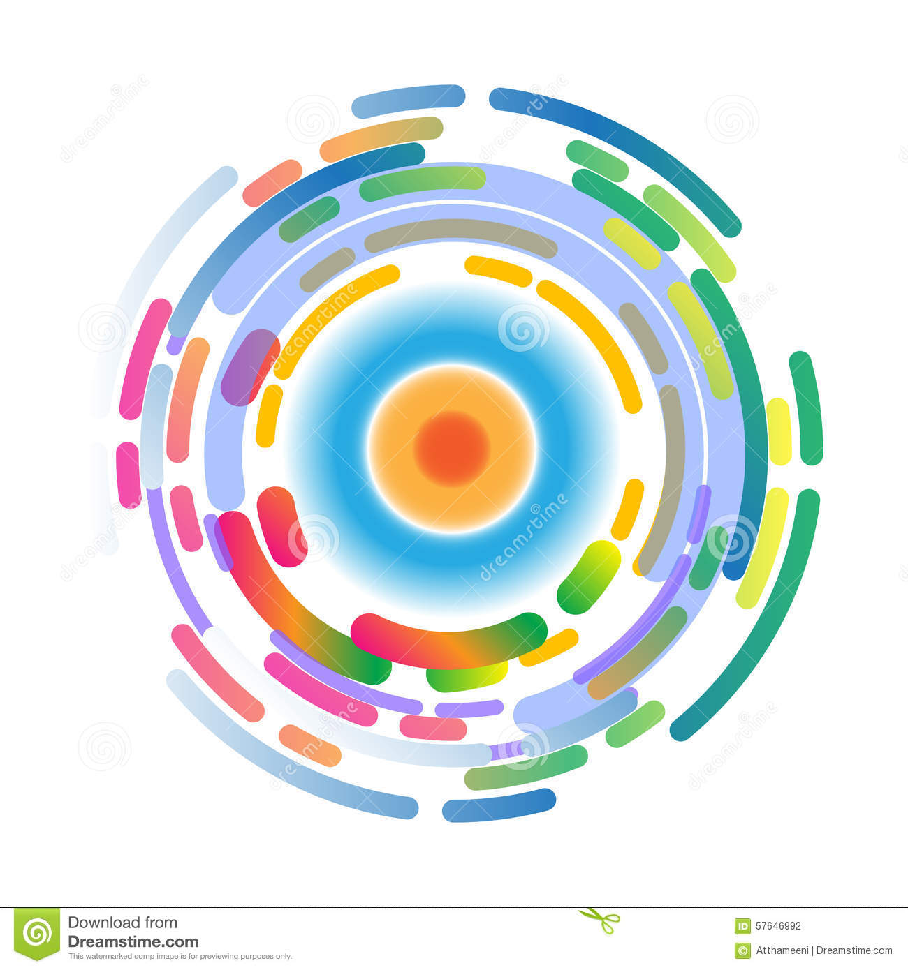 abstract background color wheel stock vector illustration of rh dreamstime com