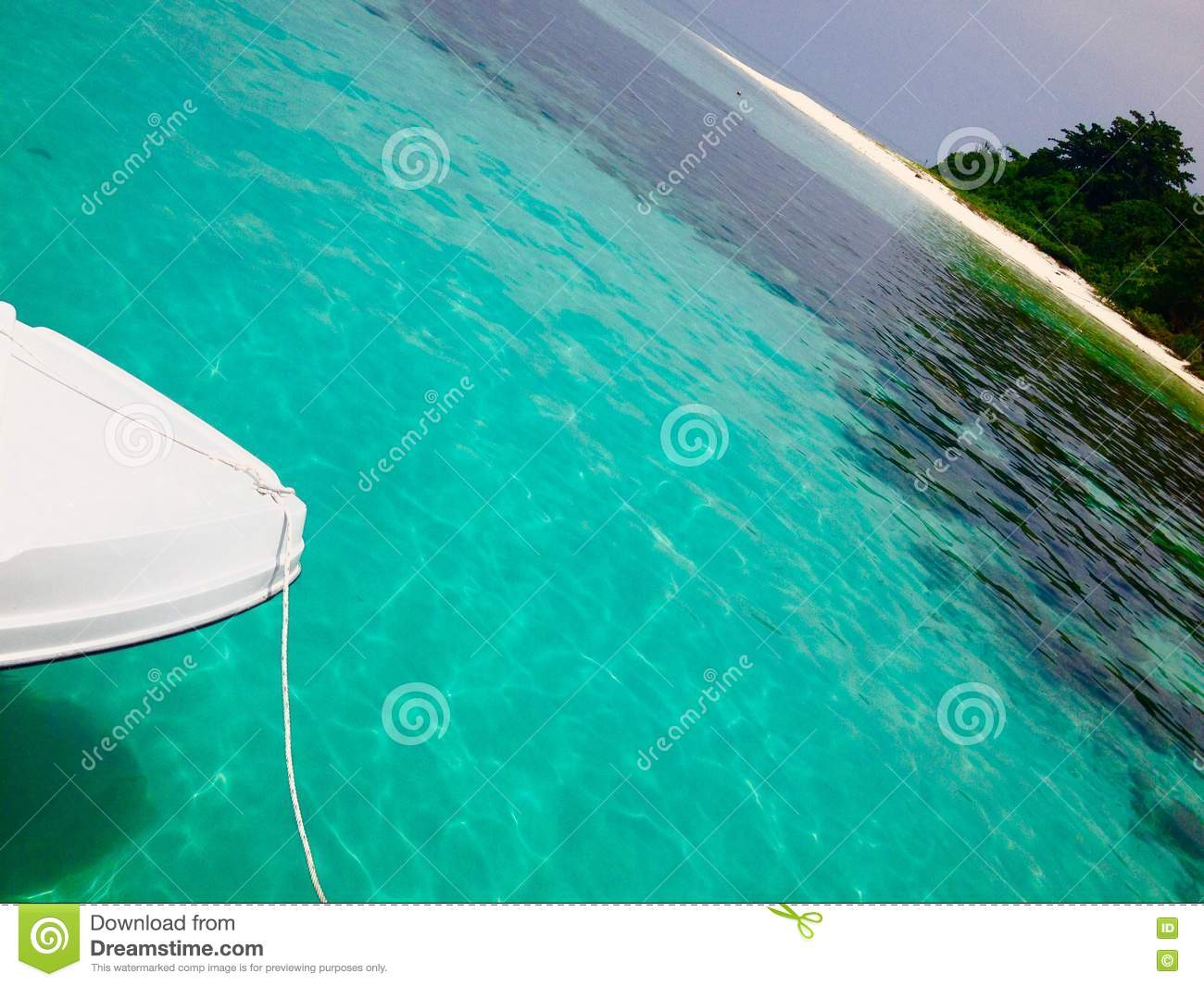 Abstract background concept tropical island travel and holidays